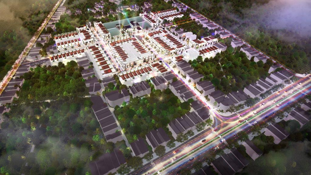 phố chợ Điện Nam Bắc
