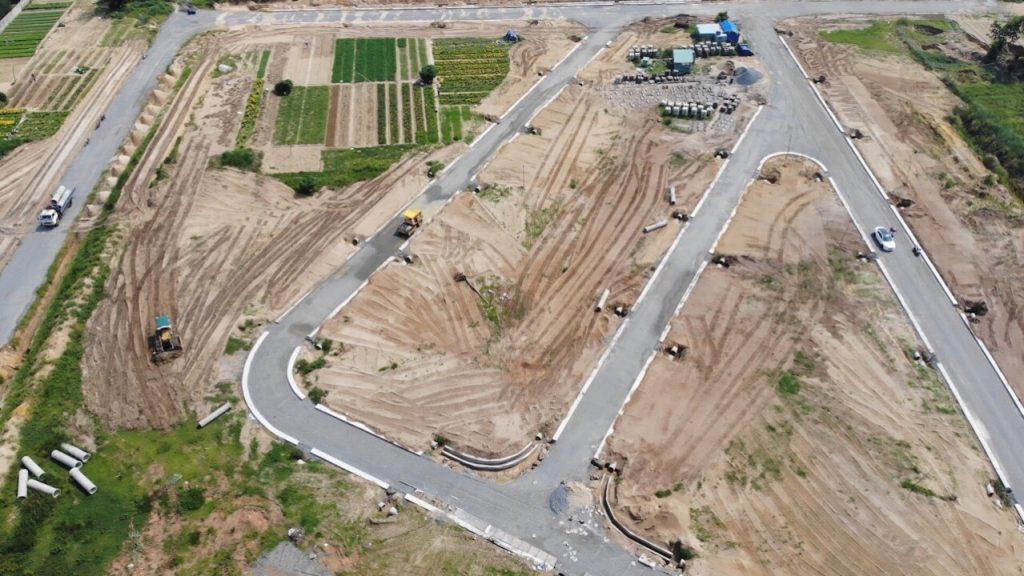 hình ảnh thực tế dự án Điện Nam Village