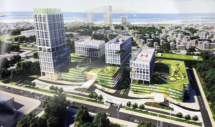 Đà Nẵng phê duyệt quy hoạch Bệnh viện Nhi Trung ương tại KCN An Đồn