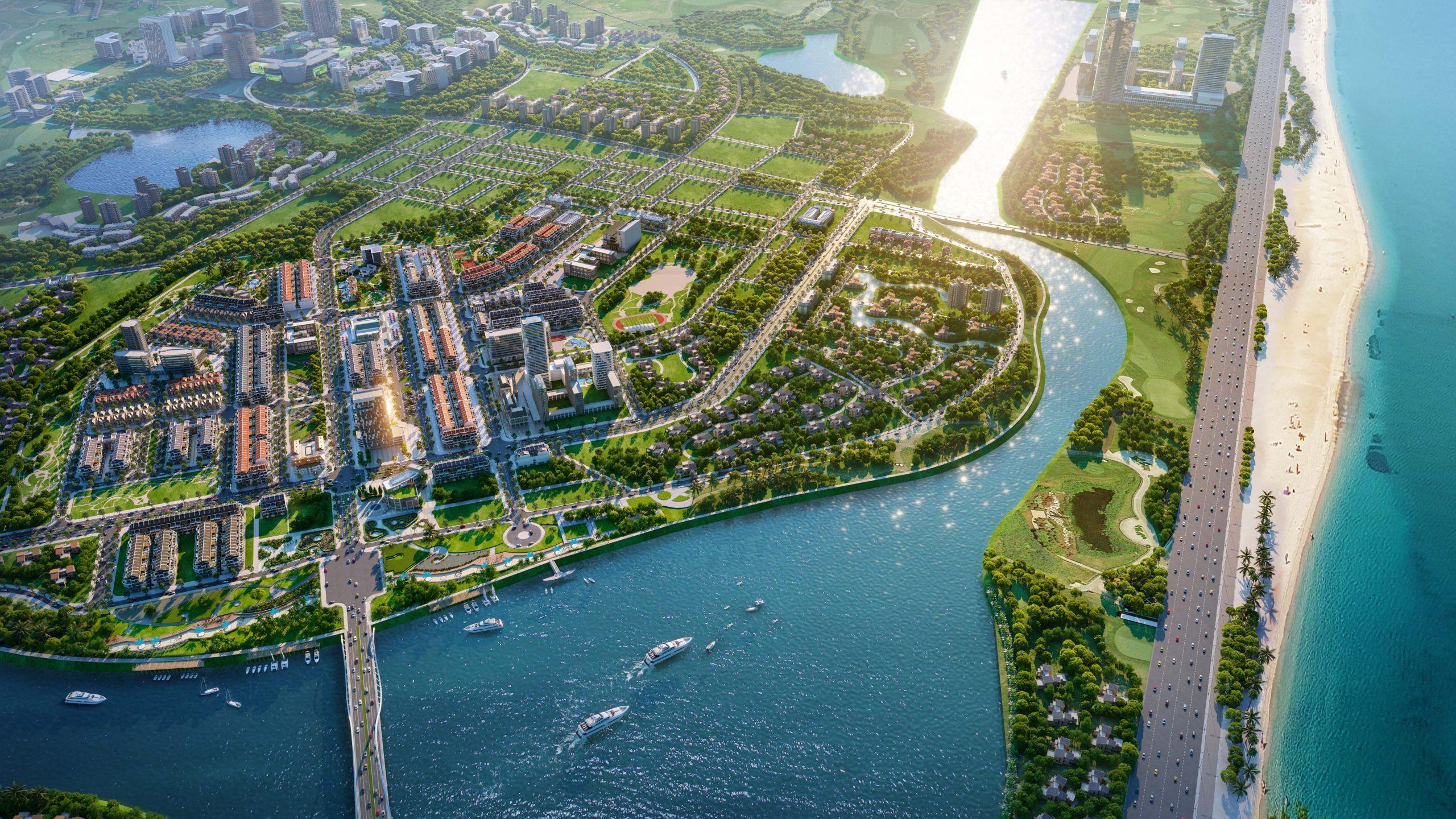 Indochina - Khu Đô Thị Sinh Thái điện âm đầu tiên ven Sông Cổ Cò